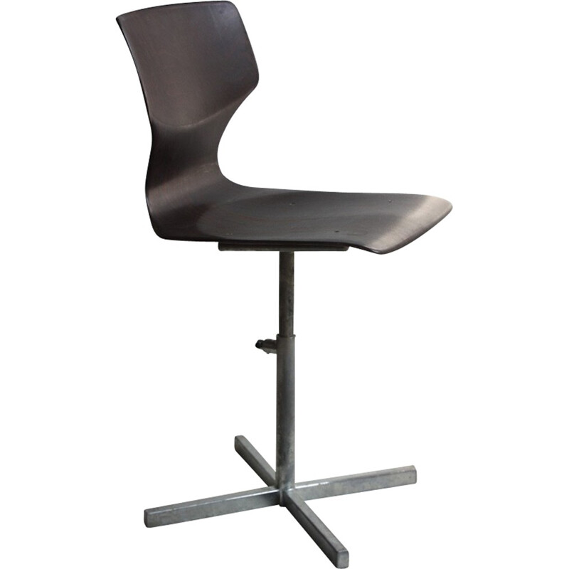 Pagholz industrial desk chair - 1960s