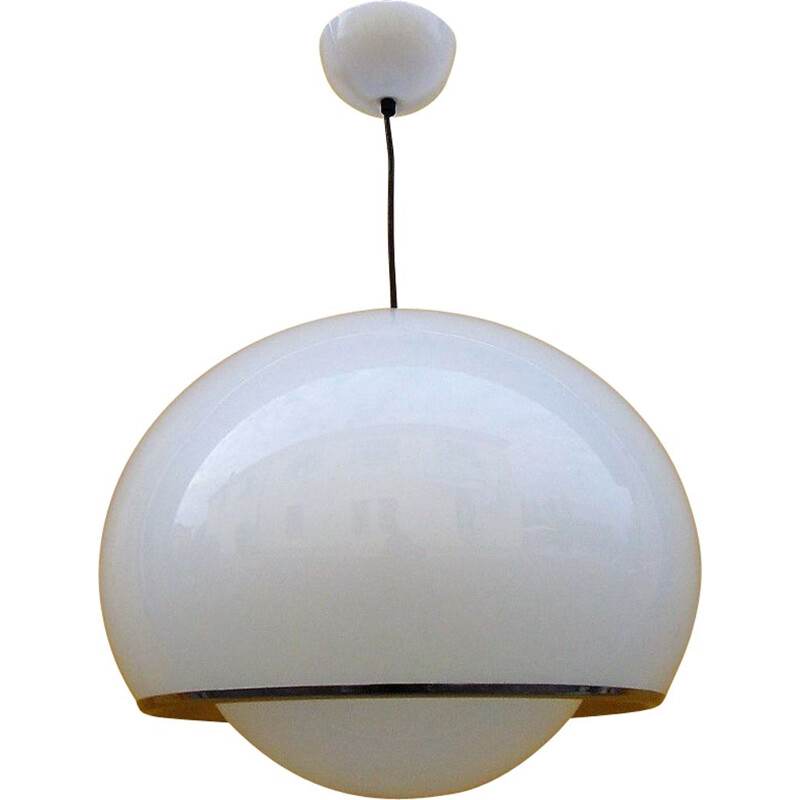 Vintage pendant light by Guzzini Harvei, 1970s