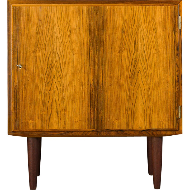 Vintage rosewood chest of drawers by Carlo Jensen for Hundevad & Co, 1960s