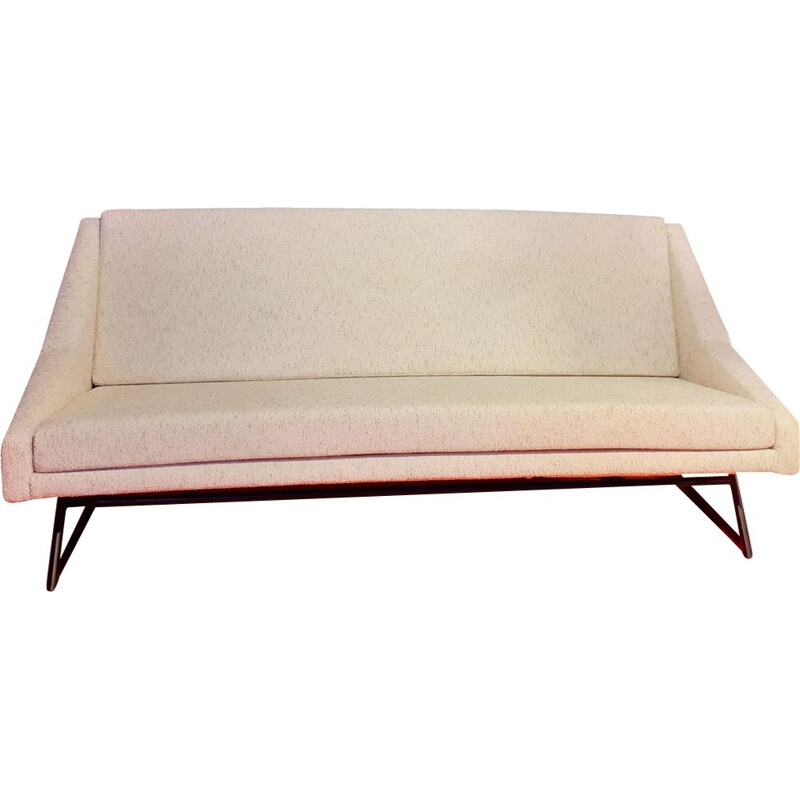 """Vintage bed sofa """"prestige"""" bed sofa by Louis Paolozzi from ZOL, 1957"""