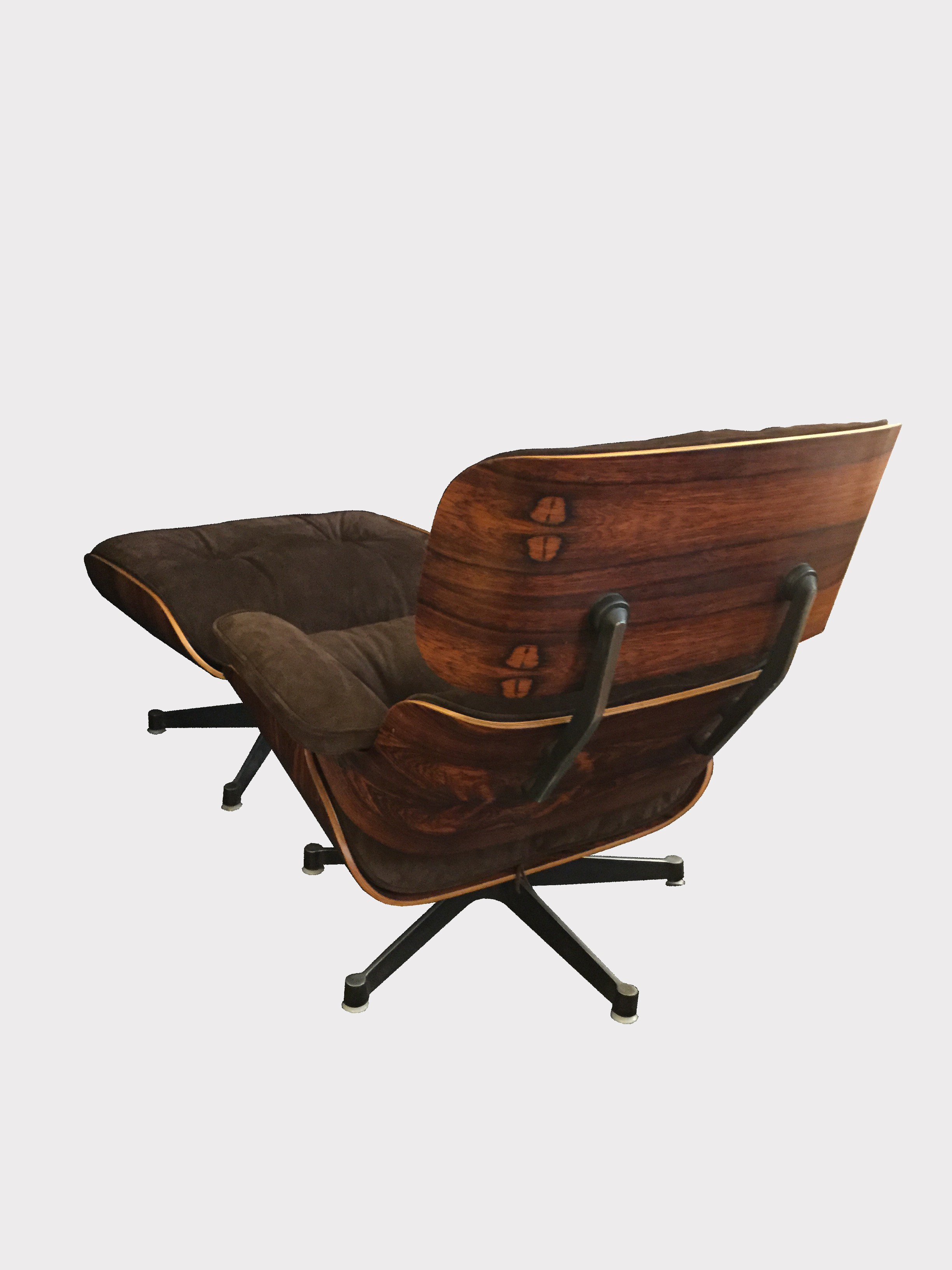 Lounge Chair And Ottoman Herman Miller In Buckskin
