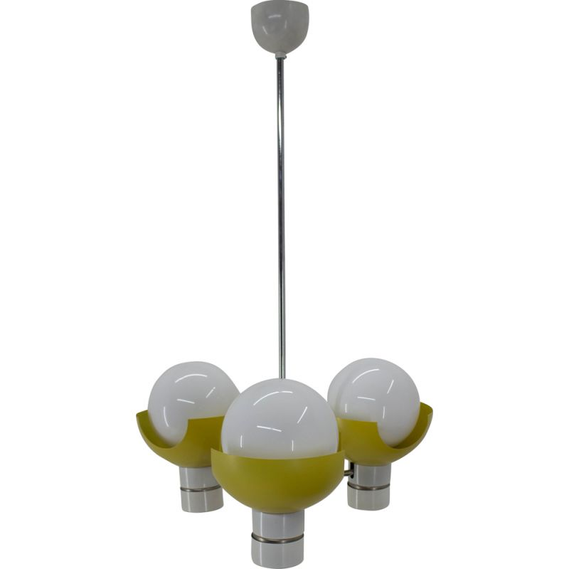 Space Age vintage chandelier by Napako, 1970s