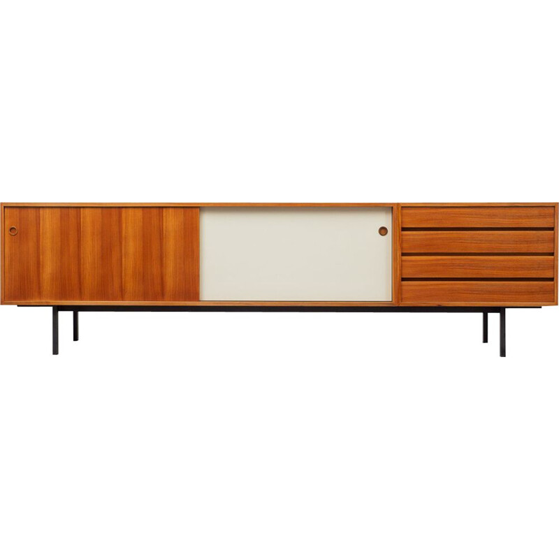 Vintage sideboard in walnut by Walter Wirz for Wilhelm Renz, 1960s