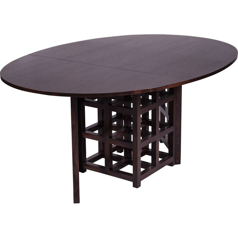 Vintage dining table by Charles Rennie Mackintosh for Cassina, 1970