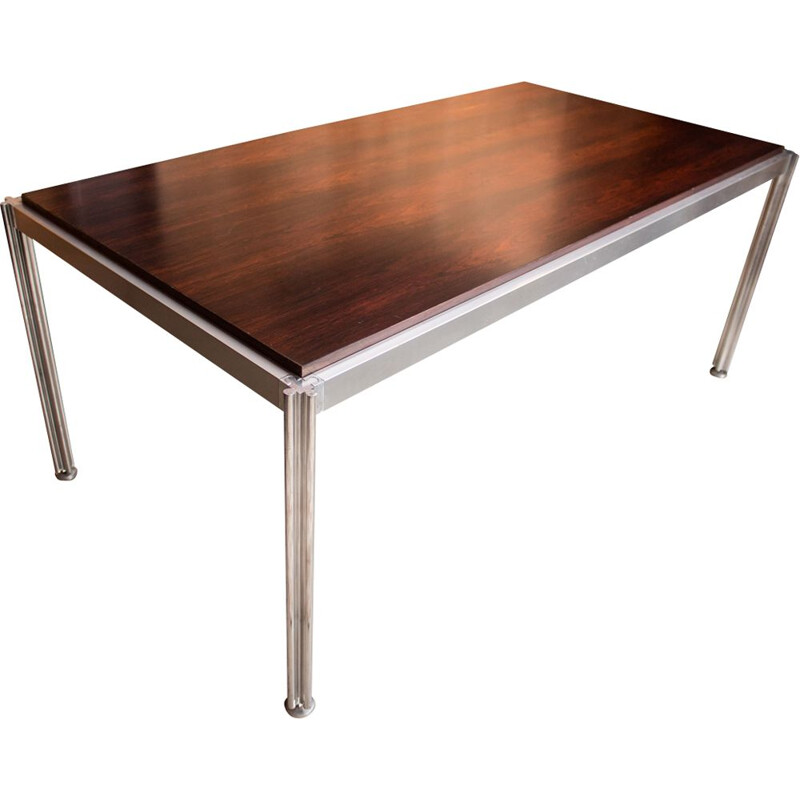 Large vintage dining table by George Ciancimino, 1970s
