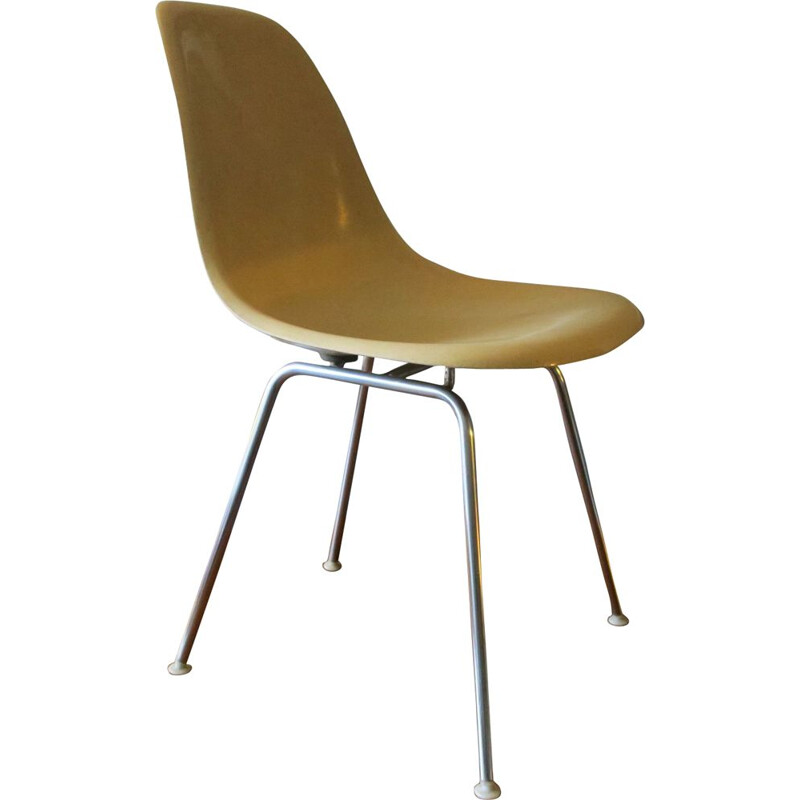 Vintage DSX fiberglass chair by Charles Eames for Herman Miller, 1950