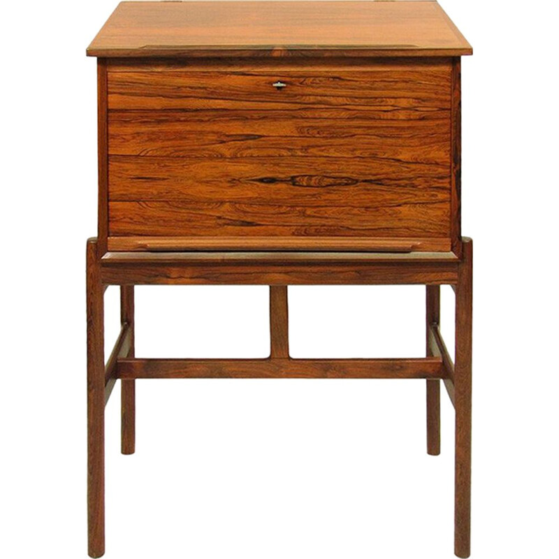 "Vintage danish rosewood secretaire desk ""Model 67"" by Arne Wahl Iversen 1960"