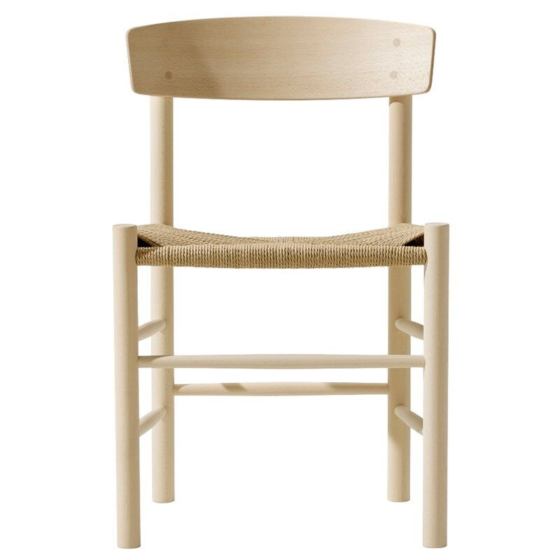 J39 chair model 3239, natural rope, Borge Mogensen for FREDERICIA