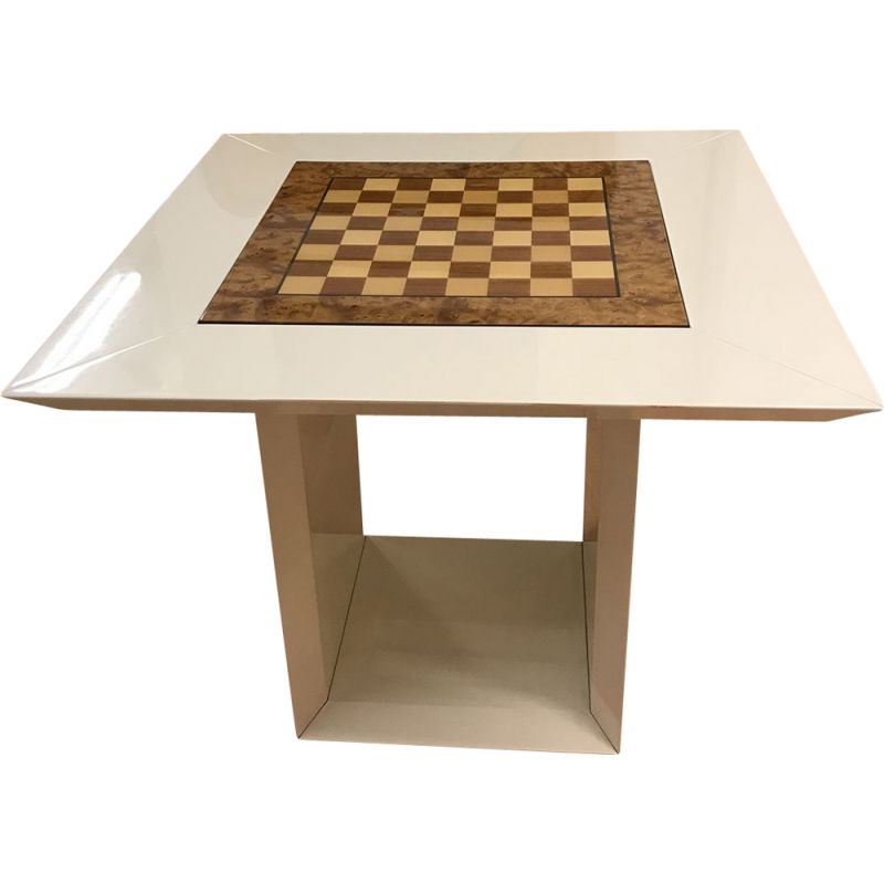 Vintage game table by Paul Michel, Circa 1980