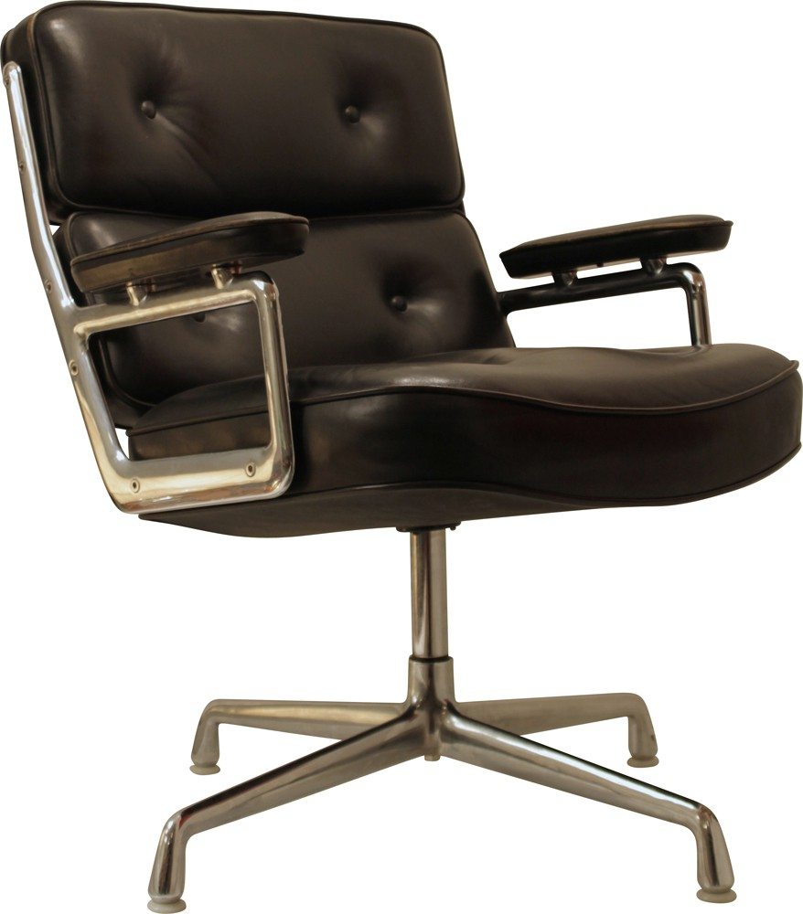 vitra lobby chair armchair charles ray eames 1975 design market. Black Bedroom Furniture Sets. Home Design Ideas