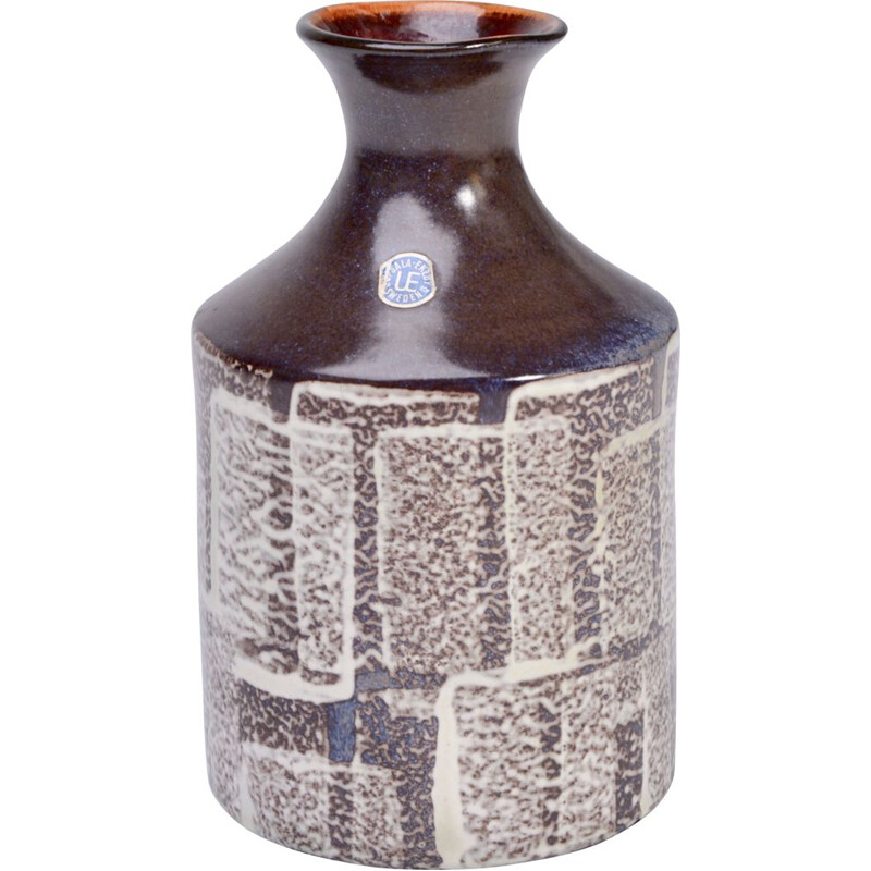 Vintage ceramic vase by Mari Simulsson for Upsala Ekeby 1960