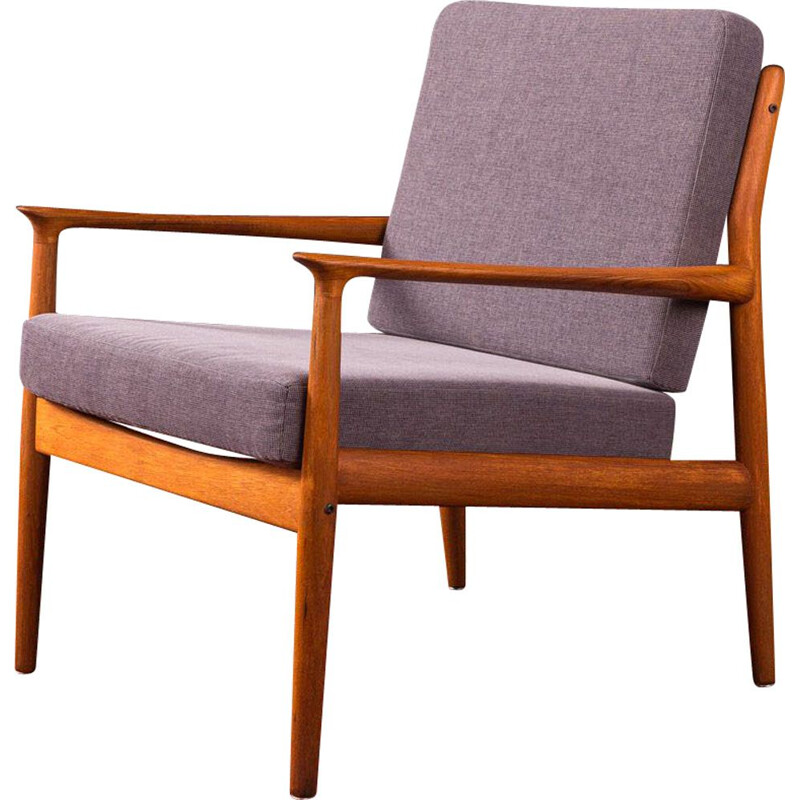 Vintage armchair by Grete Jalk for Glostrup, 1960s