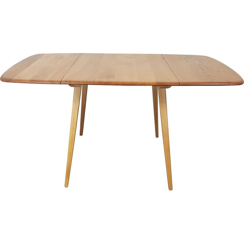 Vintage drop leaf dining table by Lucian Ercolani for Ercol, 1960s