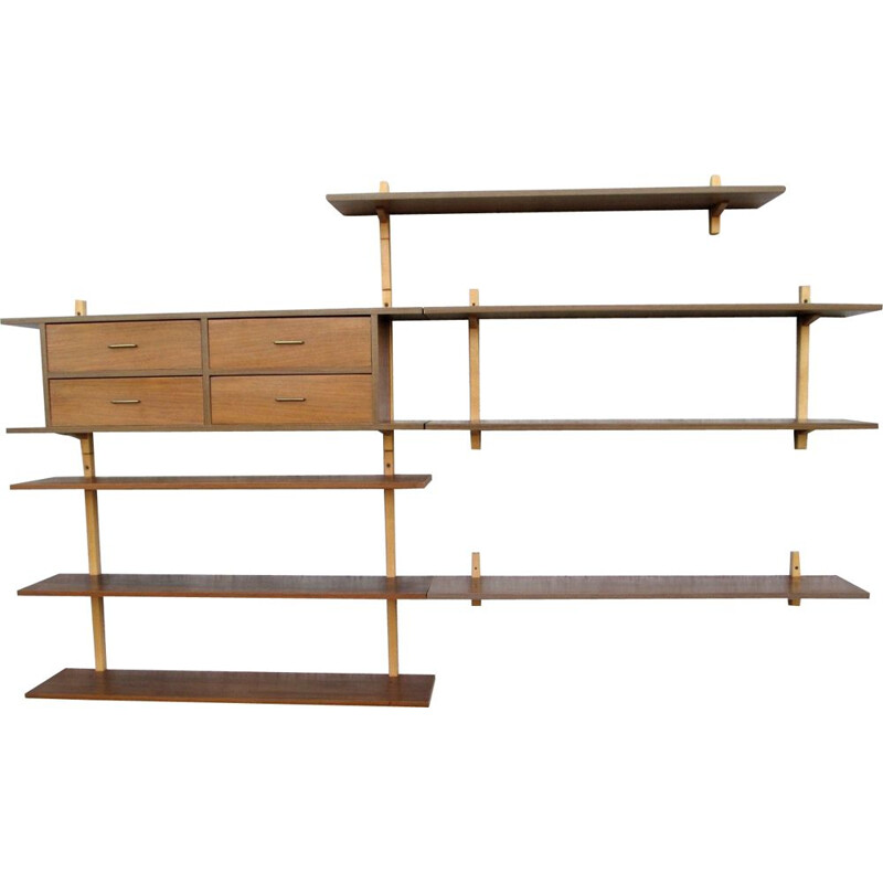 Vintage wall shelves, Royal System, 1960