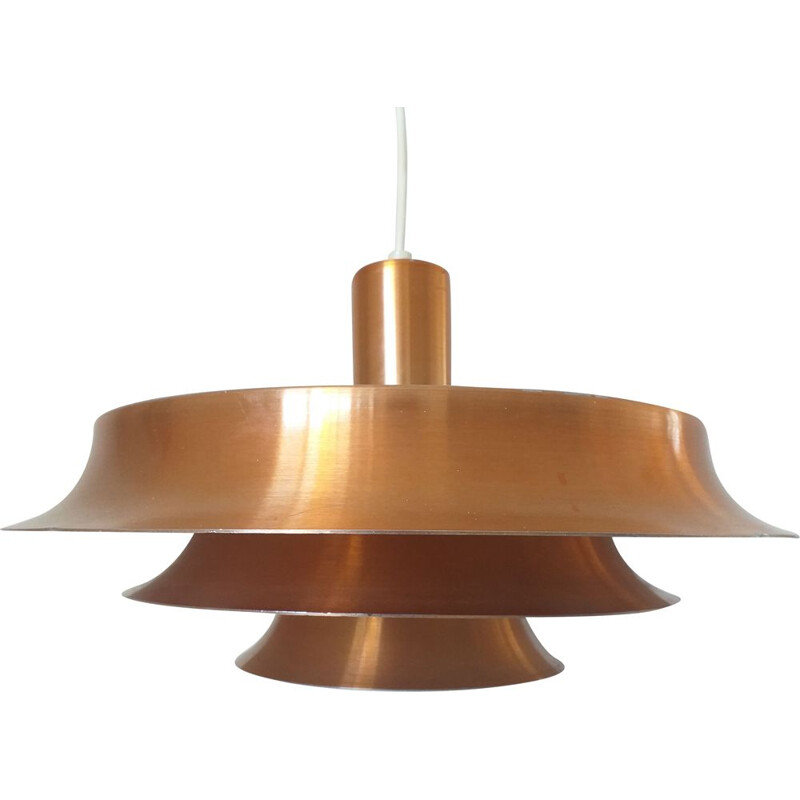 Vintage hanging lamp in the style of Jo Hammerborg, Denmark, 1960s