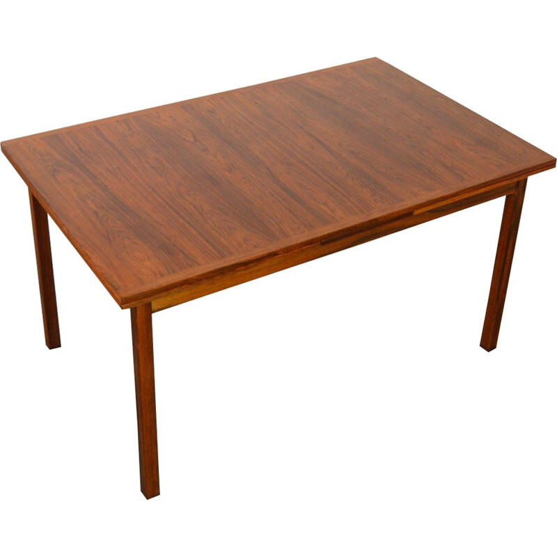 Vintage rosewood dining table by Troeds, Sweden, 1960s