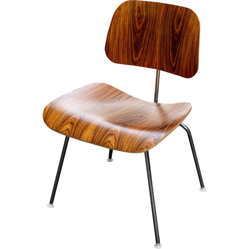 Vintage Eames DCM chair in rosewood by Herman Miller