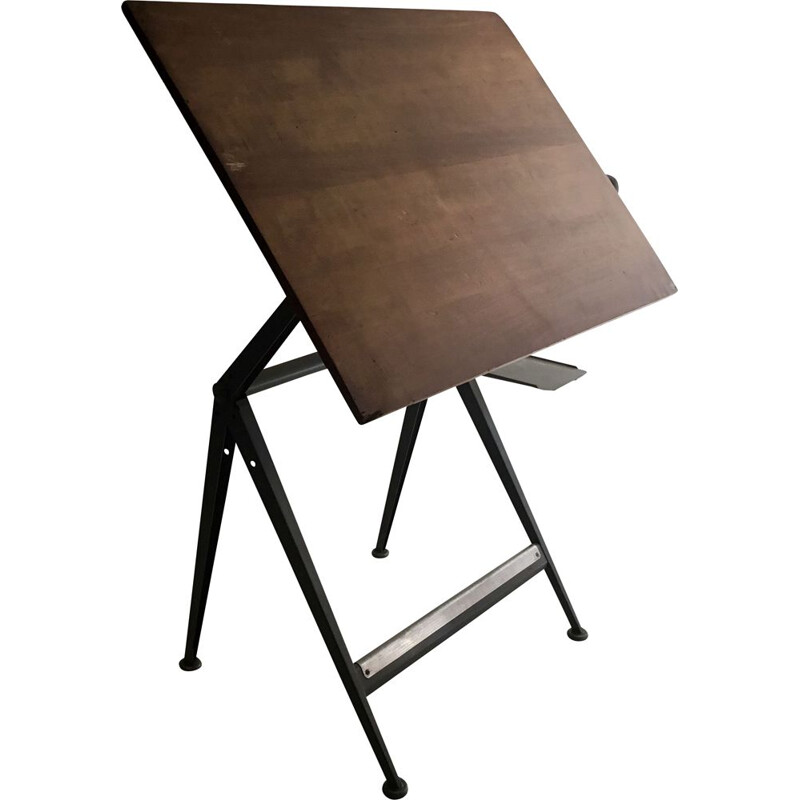 Vintage worktable by Friso Kramer for Ahrend De Cirkel, 1970s