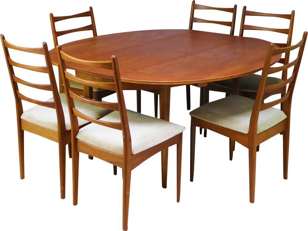 Vintage Dining Set In Oak By Greaves Thomas 1960 Design Market