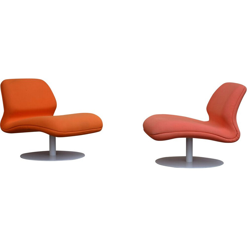 Set of 2 vintage armchairs model Attitude by Morten Voss for Fritz Hansen, 2007