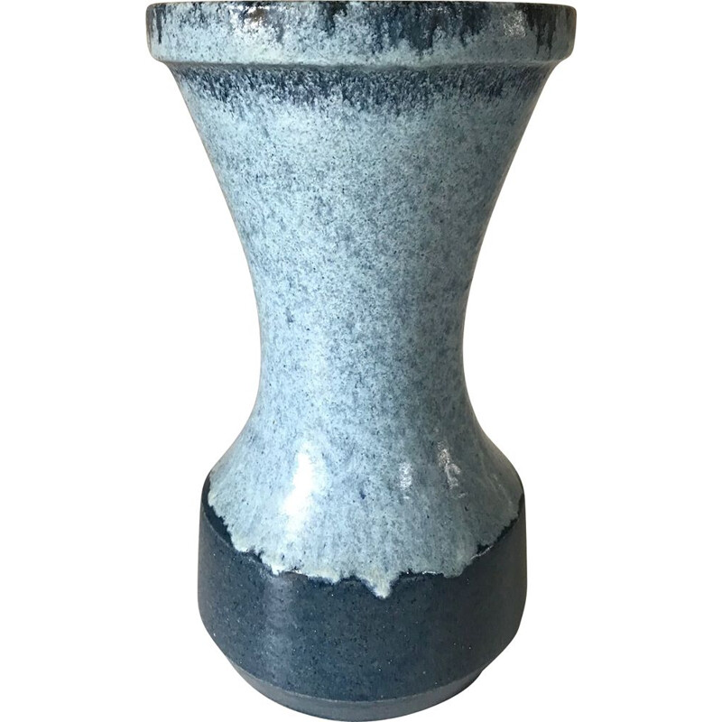 Vintage ceramic vase by Accolay, France, 1960s