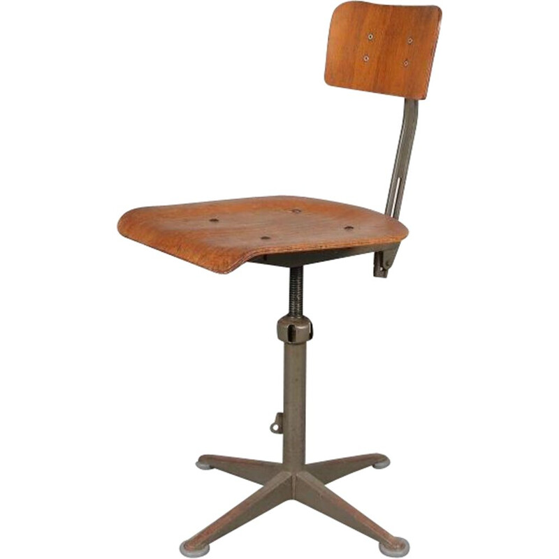 "Vintage ""Early"" model working chair by Friso Kramer, 1950s"