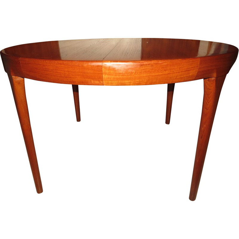 Vintage danish teak dining table by Kofod-Larsen, 1960s