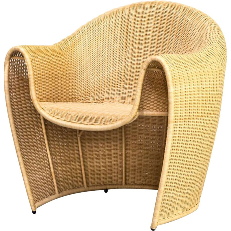 Vintage Miki Astori armchair for the Atlantide Collection of Driade, 1990s