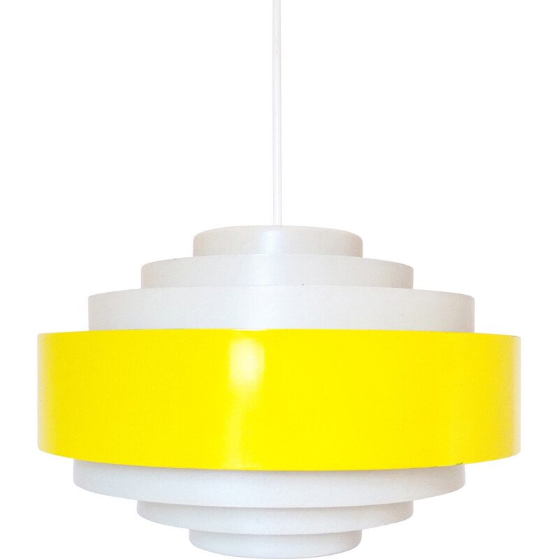 Fog & Morup Ultra hanging light in metal, Jo HAMMERBORG - 1960s