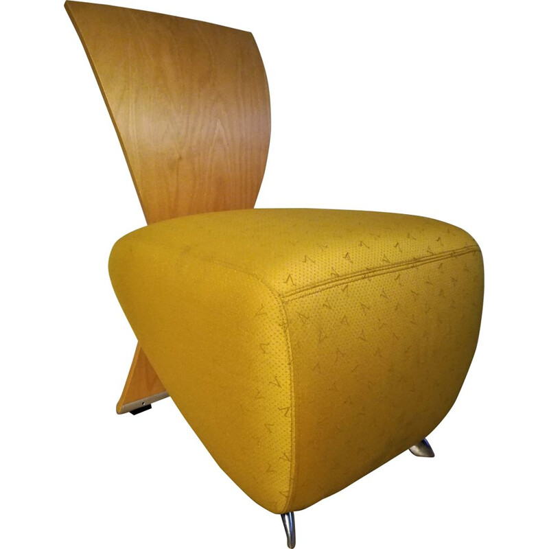 Vintage Bobo armchair, Dauphin publisher by Dietmar Sharping