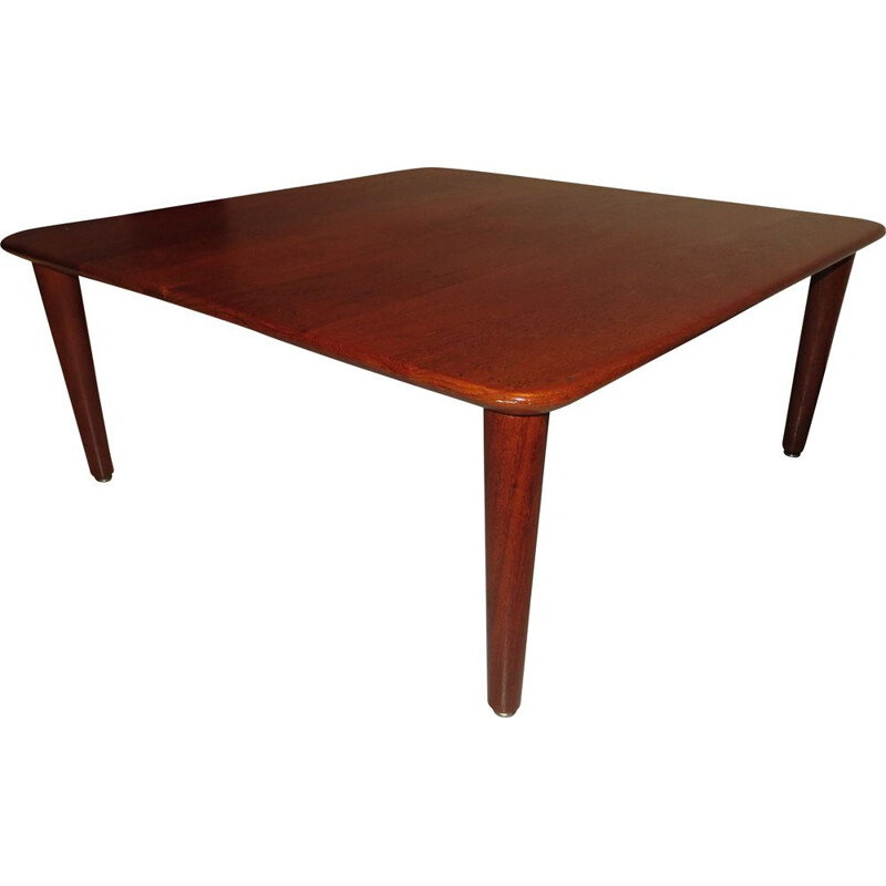 Vintage teak coffee table by Peter Hvidt and Orla Molgaard-Nielsen, 1960s