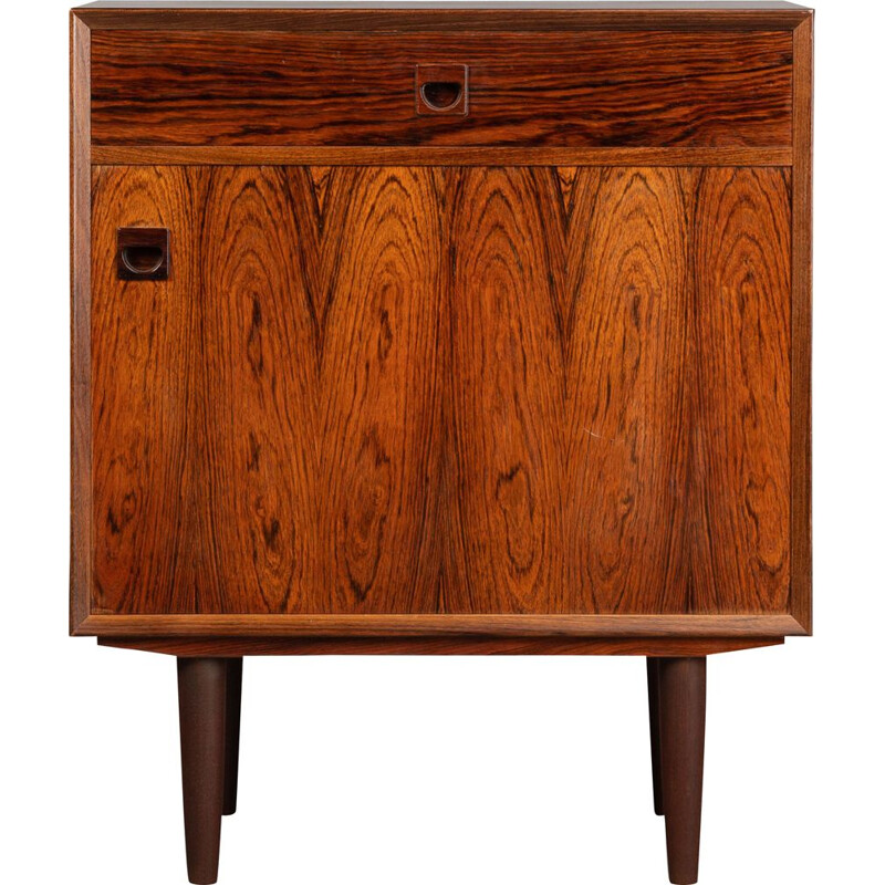 Vintage little rosewood sideboard by E. Brouer, 1960s
