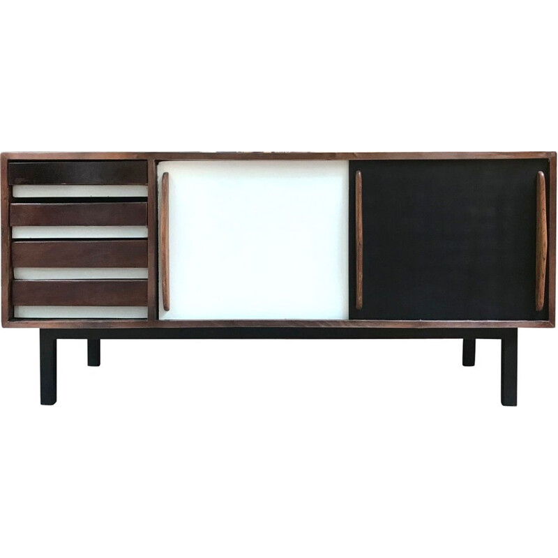 Vintage buffet Cansado by Charlotte Perriand, 1950s