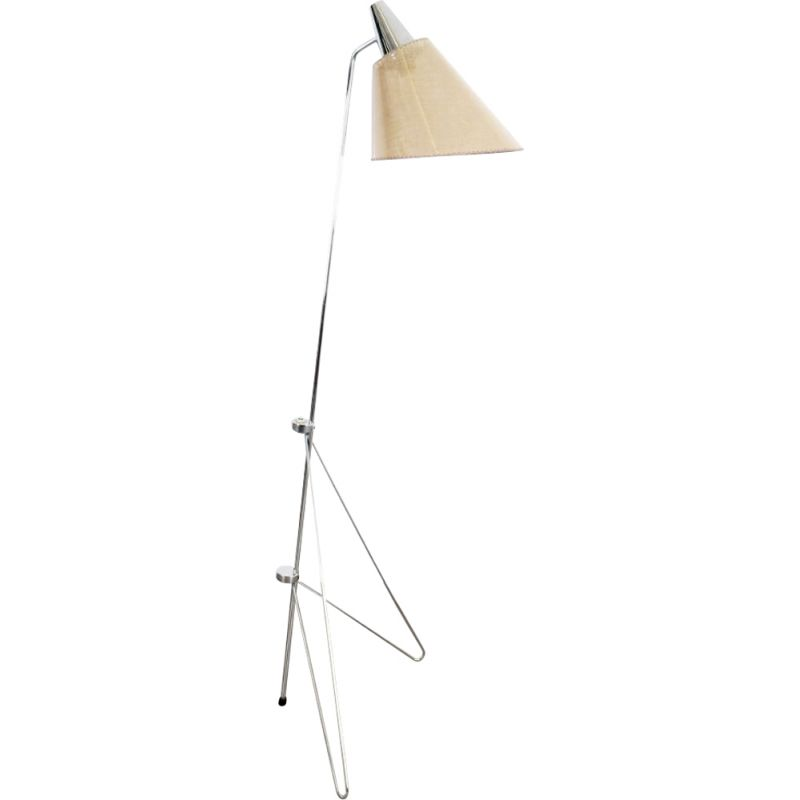 Vintage floor lamp by Josef Hurka, 1960s