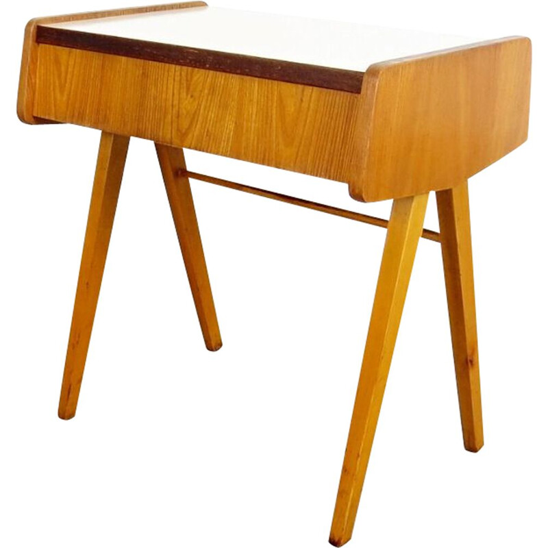 Vintage bedside table by František Jirak, 1960s