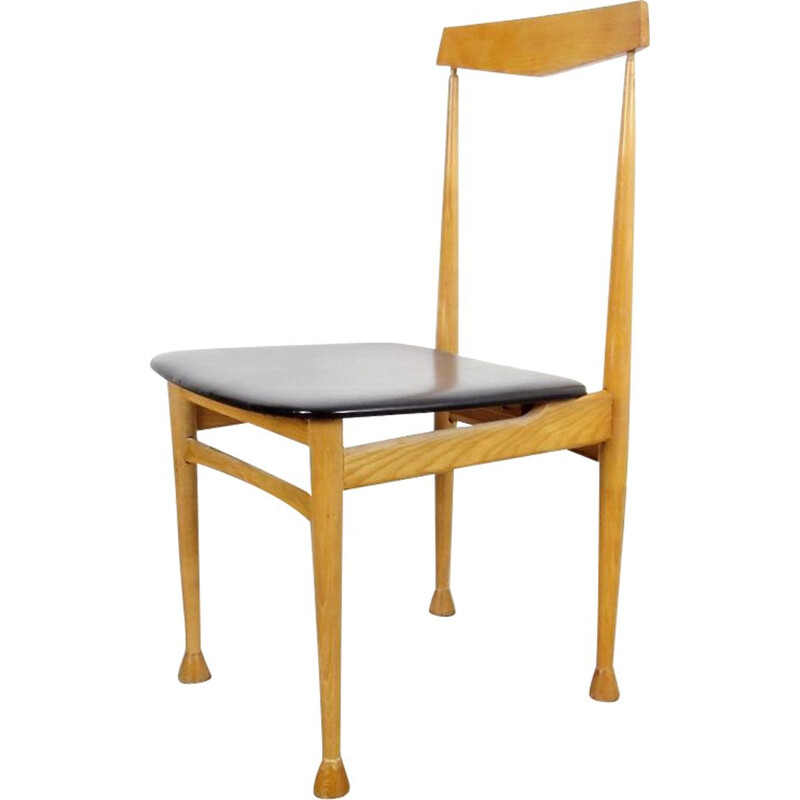 Vintage dining chair by Alan Fuchs, 1960s