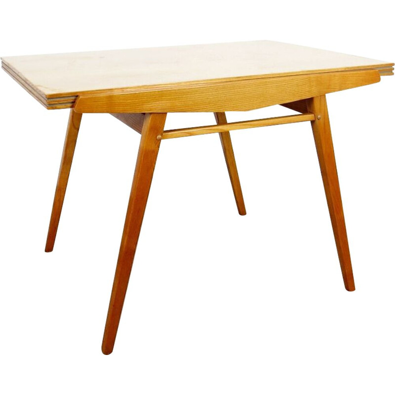 Vintage folding dining table by Frantisek Jirak, 1960s