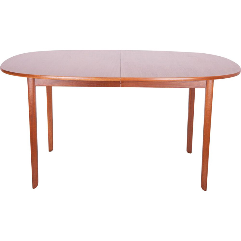 Vintage dining table by O. Wanscher for Poul Jeppesen Møbelfabrik, 1960s