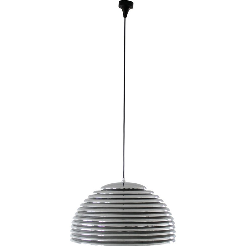 Vintage Saturno pendant lamp by Kazuo Motozawa for Staff, 1972