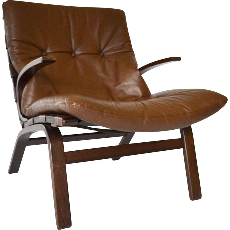 Vintage Miljø Lounge Chair from Farstrup Møbler, 1970s