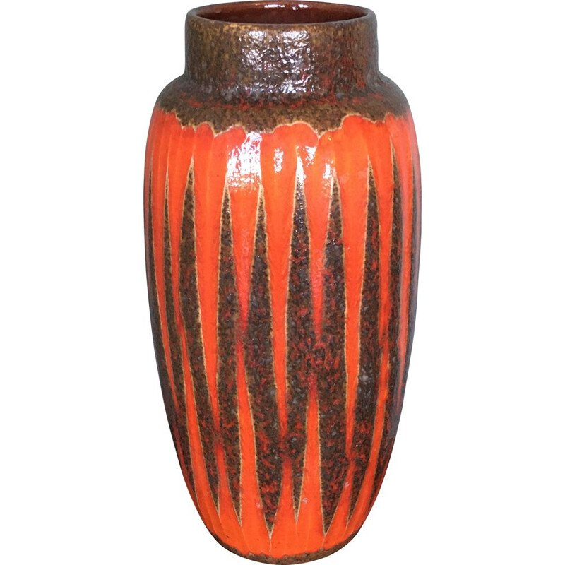 Vintage German Floor Vase from Scheurich, 1960s
