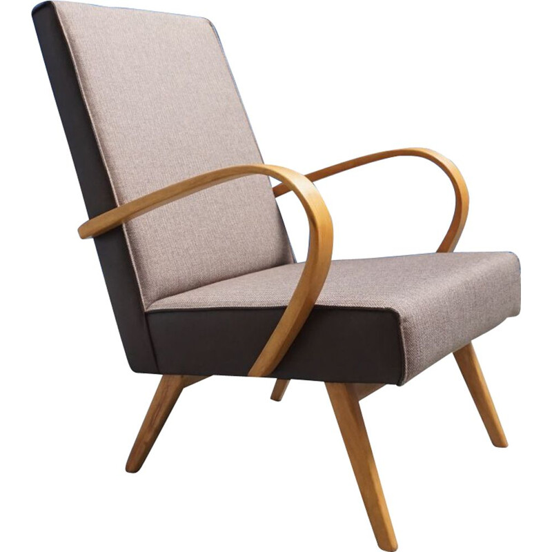 Bentwood vintage armchair from TON, 1960s