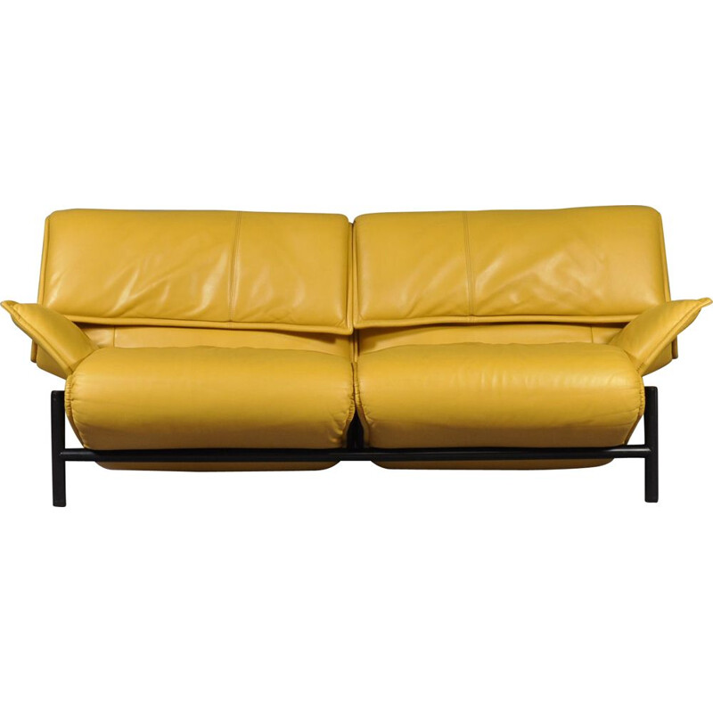Vintage Veranda sofa by Vico Magistretti for Cassina, Italy, 1983