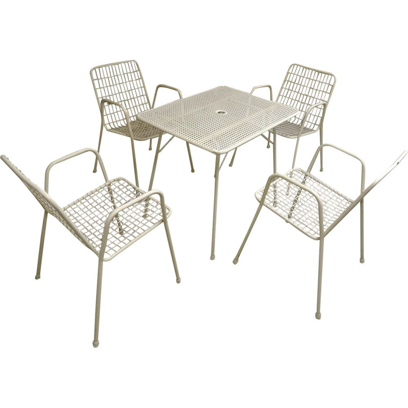 "Vintage ""Rio"" outdoor lounge set for EMU, Italy, 1960-70s"