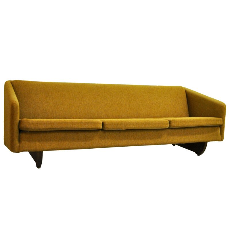 Vintage ML90 sofa by Illum Wikkelso for Mikael Laursen, 1965s