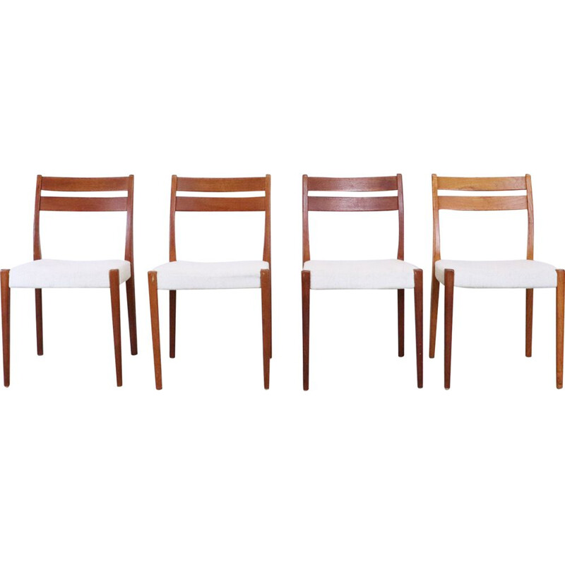 Set of 4 vintage chairs by Svegards from Markaryd, Sweden, 1960s