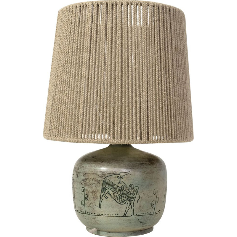 Vintage table lamp by Jacques Blin