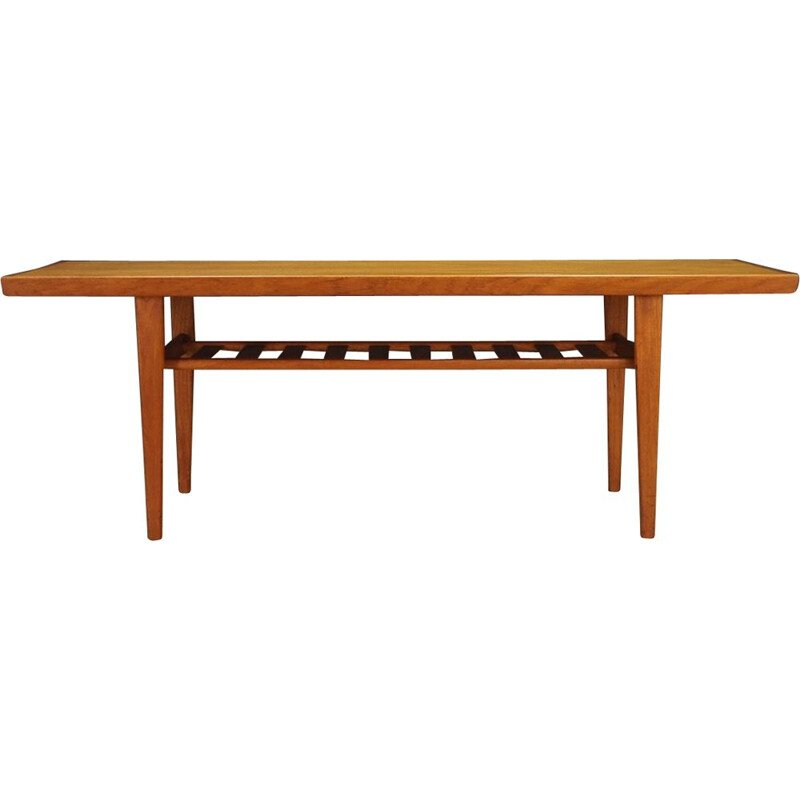 Vintage danish coffee table in teak, 1960