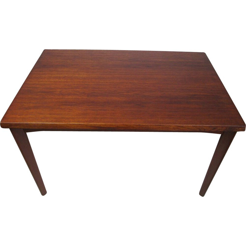 Vintage Extendable Dining Table, Denmark, 1970s
