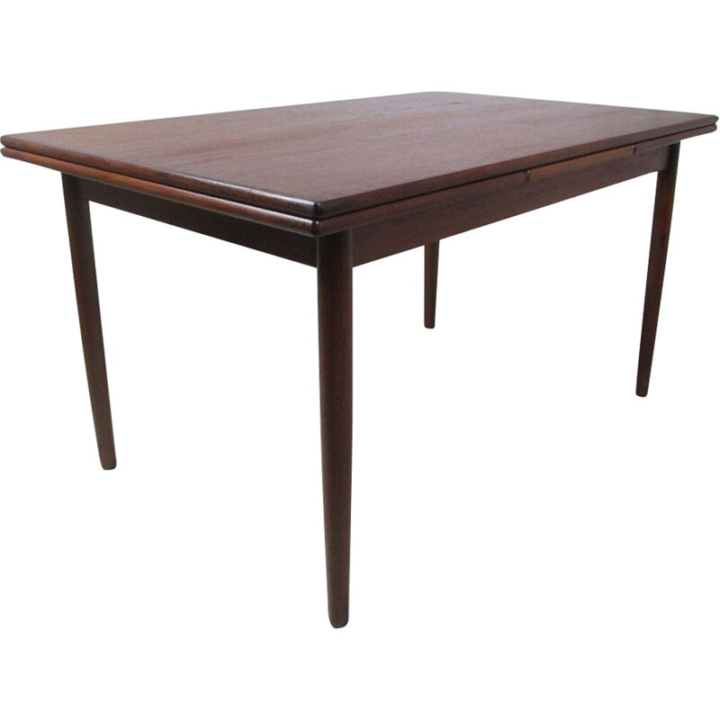 Vintage Extendable Dining Table in Teak, 1970s